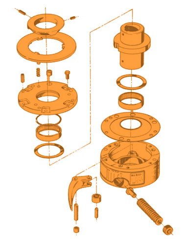 Torq/Gard Overload Clutch Exploded View